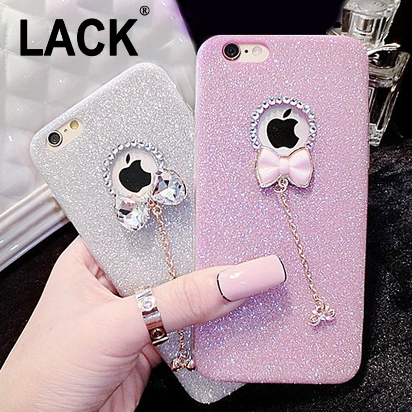Hot! Luxury Candy Crystal Bling Glitter Powder Shine soft Phone Cases Cover For iPhone 5 5s 6 6 plus Case Fundas Skin Capa Para(China (Mainland))