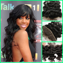 Brazilian Body Wave Lace Frontal Closure Bleached Knots 13X4 Brazilian Hair Full Lace Frontal Piece Baby Hair Free Shipping