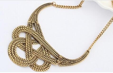Hot necklace fashion party chunky luxury choker statement necklace women Jewelry(China (Mainland))