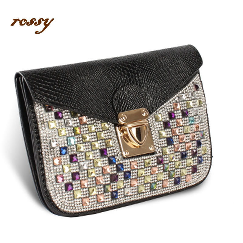 2015 fashion handbags women's shoulder bag rhinestone diamond cross-body one solid casual women - mis zhao's store