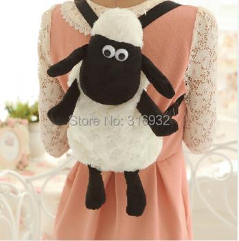 I4 Cute Shaun the Sheep Style Plush backpack, free shipping