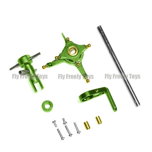 Free shipping Wholesale WLToys V911 4CH Helicopter Accessories CNC Alloy Metal Upgrade set & Linkage Rod Set Red(China (Mainland))