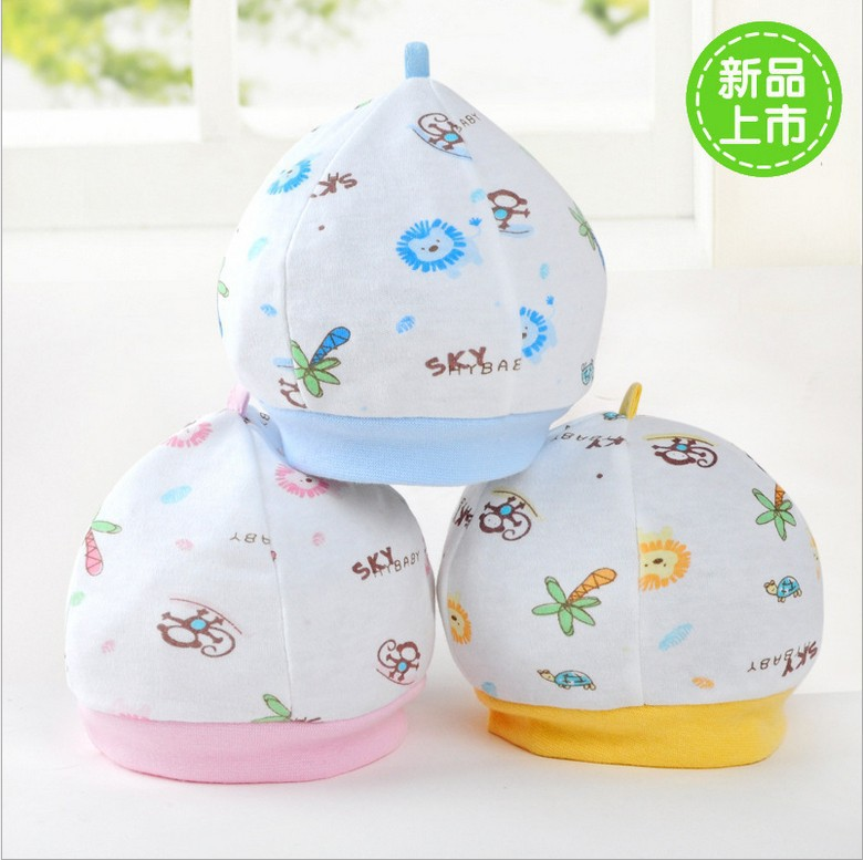 baby clothing all for children clothing and accessories soft cotton baby hat newborn and infant cap(China (Mainland))
