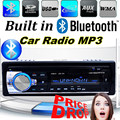 2015 New12V Car Stereo FM Radio MP3 Audio Player built in Bluetooth Phone with USB SD