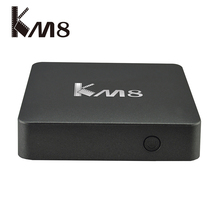 Buy Amlogic S905X RAM 2GB ROM 16GB KM8 Android TV Box Android 6.0 Smart TV Box 4K Media Player Smart Free IPTV Dual Wifi 5G for $54.99 in AliExpress store