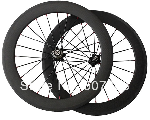 customized folding bike wheels 20inch 50mm clincher complete wheelsets 451 bmx depth rim aero spoke bicycle wheel - Xiamen Centra Industry & Trading Co., Ltd. store