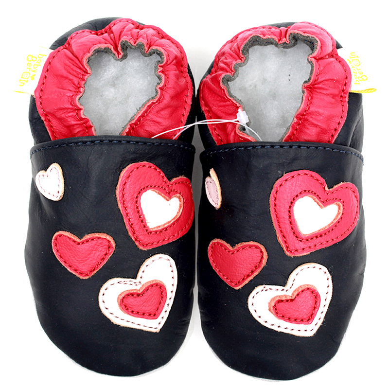 Black Baby Shoes Girls First Walkers Newborn Baby Girl Shoes Soft Sole Leather Moccasins Infant Shoes Baby Slippers Kids Bebes(China (Mainland))