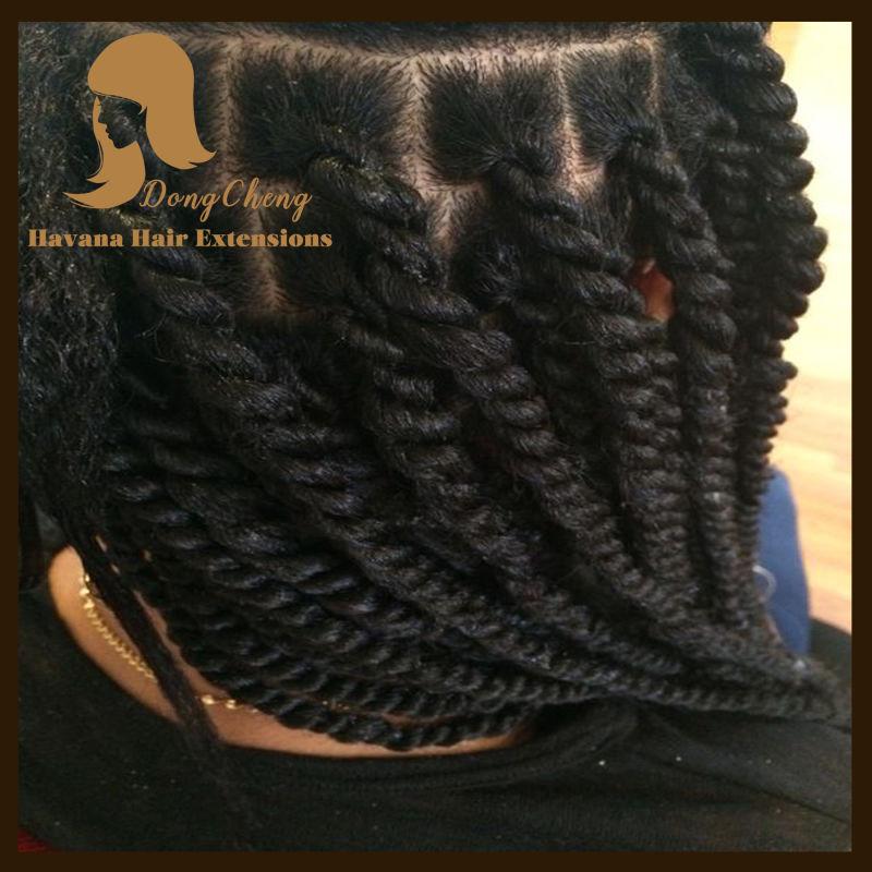 African American BlackHavana Crochet Braids Women Curly Hair Extension Xpression Kanekalon Jumbo Braid Box Braids HairExtensions(China (Mainland))