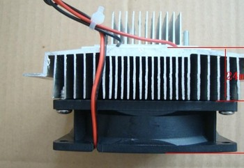 Freeshipping Thermoelectric Peltier Refrigeration Cooling System Kit Cooler fan & TEC1-12706