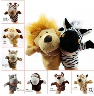 Funny Toys Holiday Sale Lovely Speaking Animal Puppet Kids Love Hand Puppet New Christmas Gifts(China (Mainland))