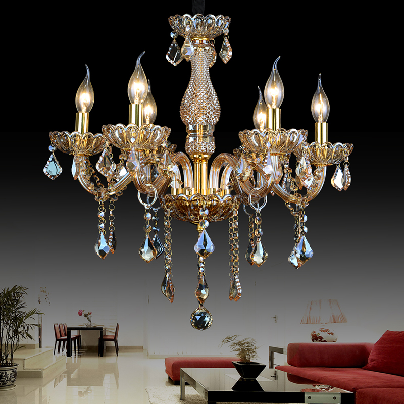 Art deco lustre moderne crystal chandelier for dining - Luminaire art deco plafonnier ...
