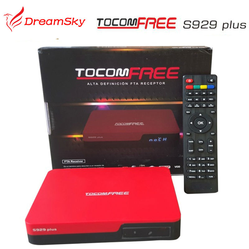 TOCOMFREE S929 plus Decoder with Free IKS+SKS+IPTV Nagra3 Twin tuner receptor tocomfree satellite receiver for South America(China (Mainland))