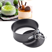 4-inch  Mini Cheesecake Quiche Springform Pan, cake mold  Baking Tools free shipping(China (Mainland))
