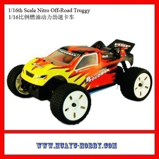 Hot HSP nitro car ! 1/16th 4WD RTR Scale 7cxp nitro engine Off-Road Truggy Toys 94283<br><br>Aliexpress