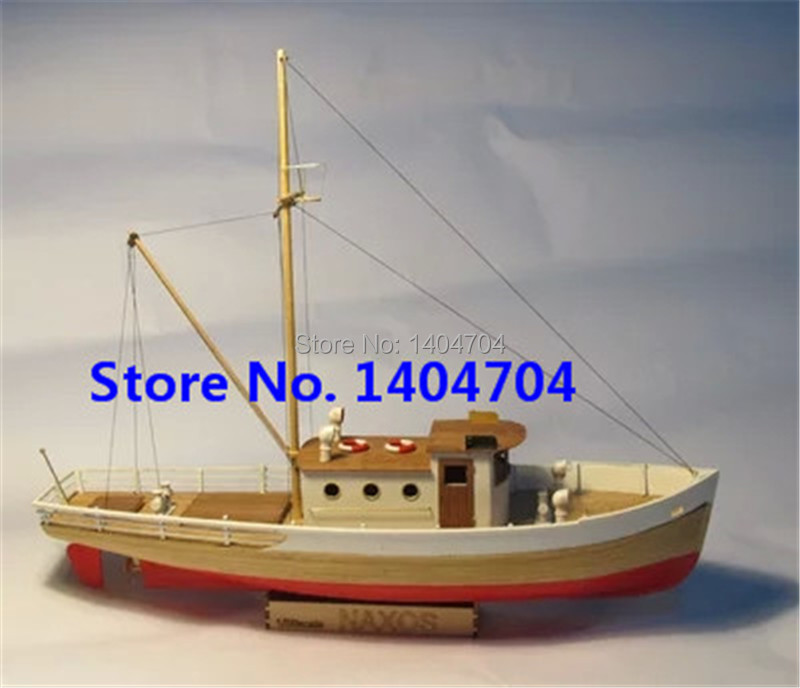Free shipping Classics Greece Fishing boat model kit Scale 1:50 NAXOS ...