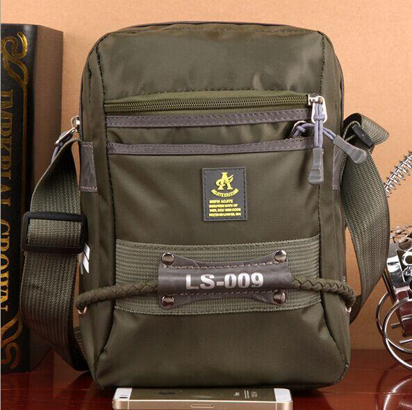 FASHION TENDER2015 American and Europe army style Men Bags Nylon Messenger Shoulder Bag Sport Casual Running Outdoor Bags LI-343(China (Mainland))