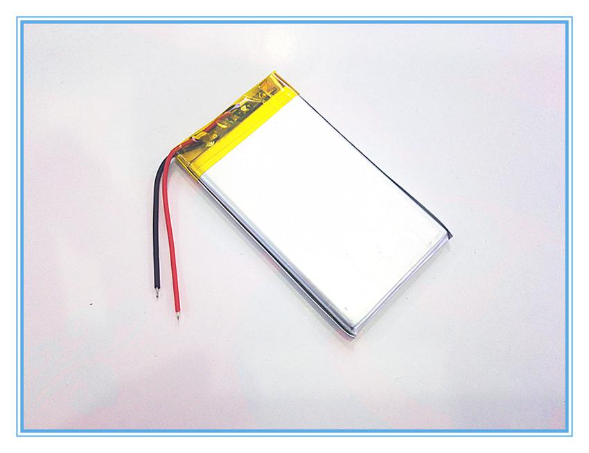 Free shipping 3.7 V lithium polymer battery 2200mah 504169 interphone navigator GPS vehicle traveling data recorder(China (Mainland))