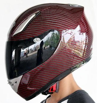 Super light 100% Carbon Fiber Motorcycle helmet for racing free shipping YOHE-911-R4