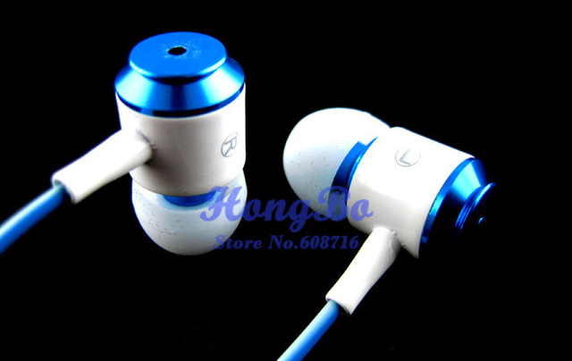 Wholesale&Retail 1PCS 3.5mm Stereo Headphone  Headset With Mic for Mobile Phone MP3 MP4