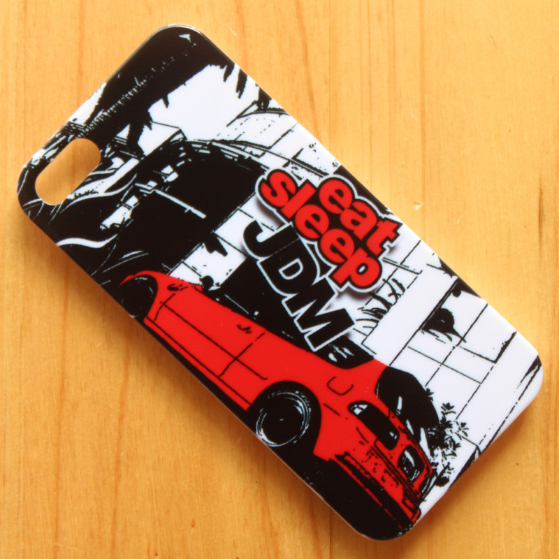 JDM STICKER BOMB Illest Hellaflush Back phone case hard back cover iphone 4 4s 4th 1s - lingling Trade Co.,Ltd store