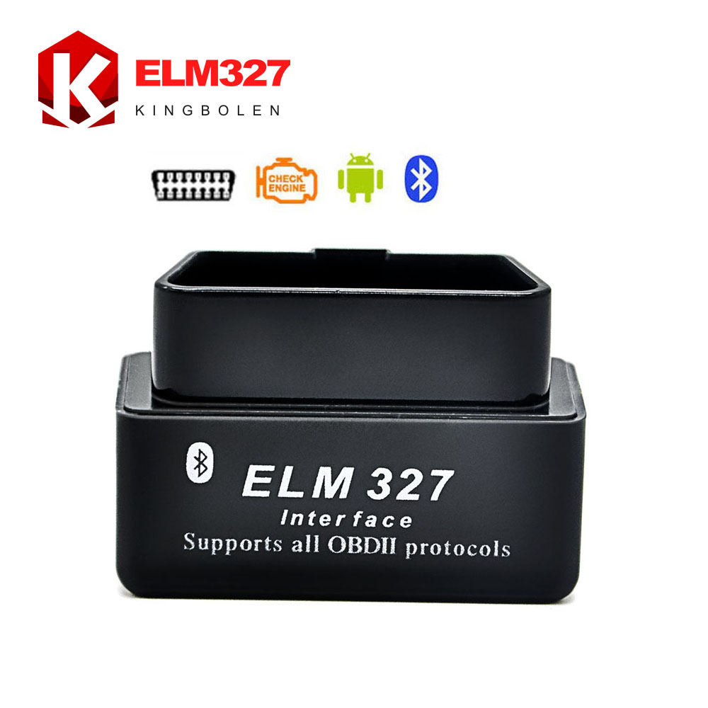 2016 Factory Drop Shipping MINI Bluetooth ELM 327 V2.1 OBD2 / OBDII ELM327 for Android Torque Car Code Scanner 2 Years Warranty(China (Mainland))