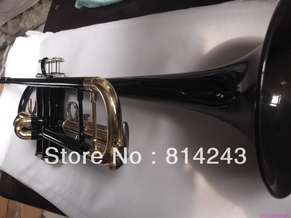 Wholesale sales  YTR - 1335 - B black gold-bonded trumpet instrument surface<br><br>Aliexpress