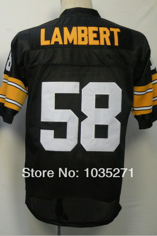 Гаджет  Outlet Cheap Jerseys #58 Jack lambert Jersey ,Stitched Logo Embroidery  Authentic Jersey Free Shipping None Спорт и развлечения
