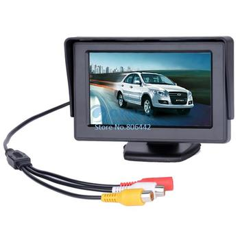 """4.3"""" Dashboard Backup Color TFT LCD Car Monitor Rearview for Camera DVD VCR dropshipping 35"""