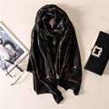 2017 luxury brand new women scarf fashion print silk scarves shawls and wraps summer beach stole