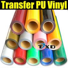 50X100CM SIZE/LOT PU Transfer vinyl for Tshirts , PU heat transfer vinyl , shirts vinyl transfer PU with free shipping(China (Mainland))