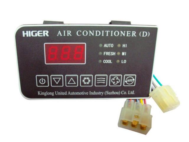 HIGER and Kinglong NTCAC Bus Air Conditoner Control Panel D bus climate control ACC unit(China (Mainland))