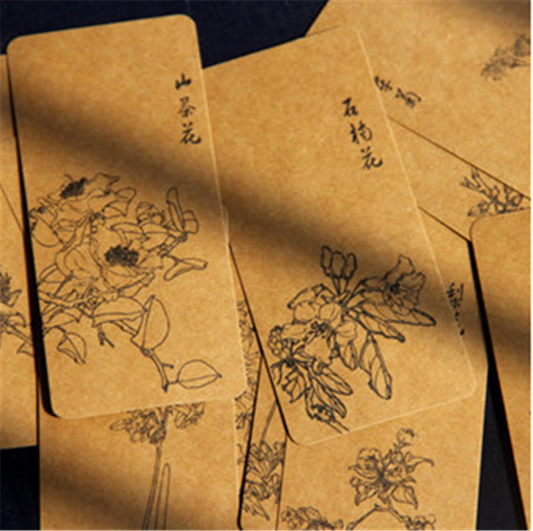 12pcs/lot Book Mark Bookmark design bookmarks Memo painting art youth printing portraiture women flowers gift classical top XM(China (Mainland))