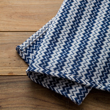 45X30CM Navy Blue Wave Thick Napkin Table Placemat Home Store Decorative Table Cover Photo Prop(China (Mainland))