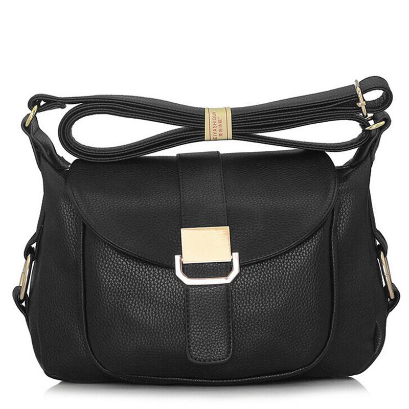 New Women Messenger Bags Fashion Women Leather Handbag Vintage Female Shoulder Bag Tote Bolsas crossbody bags for women QT314