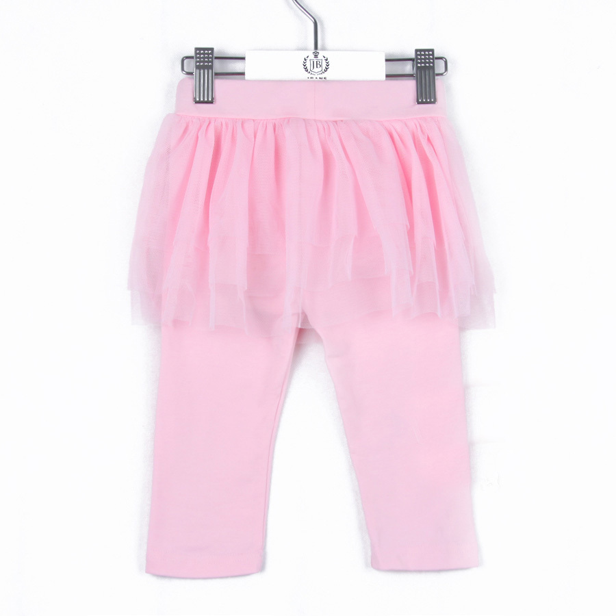 2015 summer child pants girls clothing kids puff skirt trousers casual style knee length trousers A0832(China (Mainland))