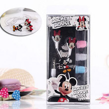 Cartoon Mickey Mouse 3.5mm In-ear Headphones Headsets Cute Minnie Earphones for iPhone Cellphone Mp3 For iPad Mini High Quality(China (Mainland))