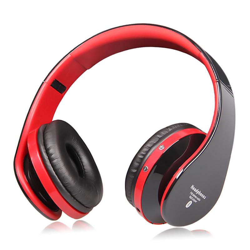 Sorpu EB203 HiFi Deep Bass Wireless Stereo Bluetooth Headphone Noise Cancelling Headset With Mic, Support TF Card, FM Radio(China (Mainland))