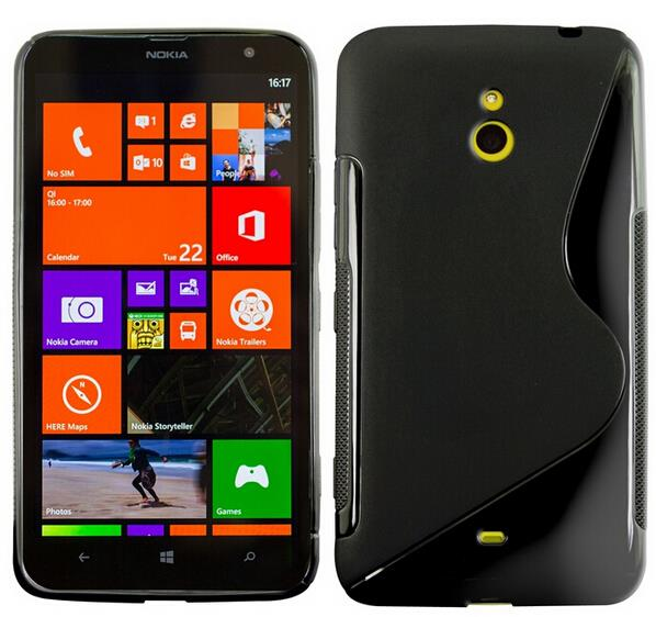 For Nokia Lumia 1320 case high quality Silicone Soft TPU Gel S line Cover Anti-skid Skin + Screen Protector +Stylus Pen(China (Mainland))