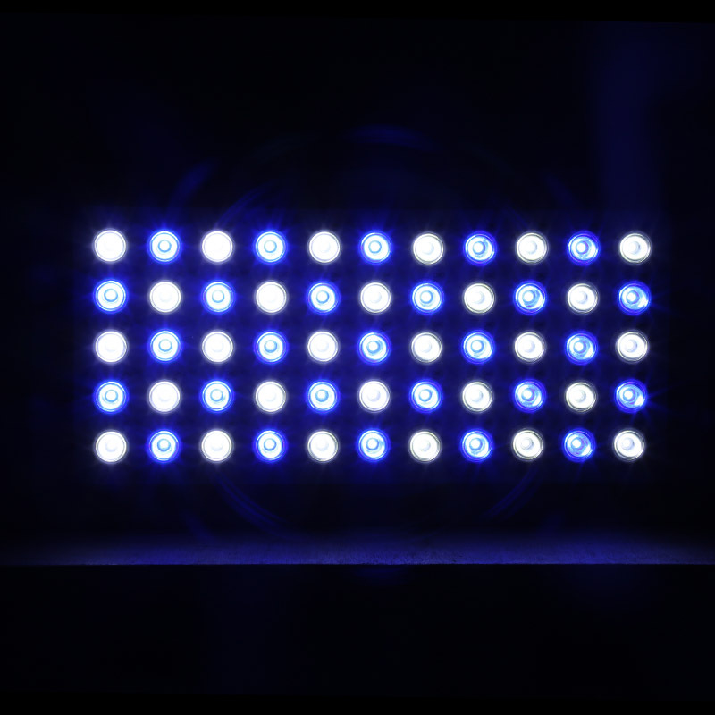 Free shipping 165W Dimmable Aquarium Light 3W LEDs Coral Reef Grow Light Lamp metal body best price UPS& DHL&FEDEX shipping(China (Mainland))