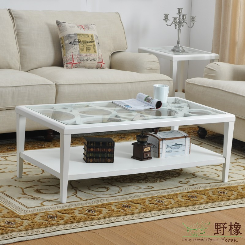 Buy wild oak wood coffee table ct6104 for Living room no coffee table