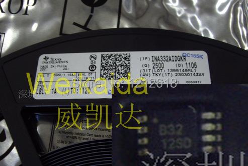 INA332AIDGKR INA332AIDGKTINA332 amplifier IC VSSOP-8 new original(China (Mainland))