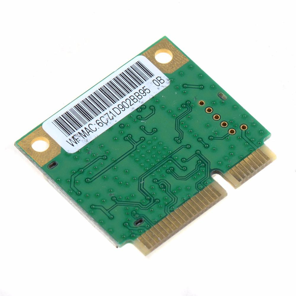 Laptop Network Cards Mini PCI-E Combo Wireless Card Realtek RTL8723AE 300M +4.0 Bluetooth 802.11n Network Cards VCM18 P51(China (Mainland))