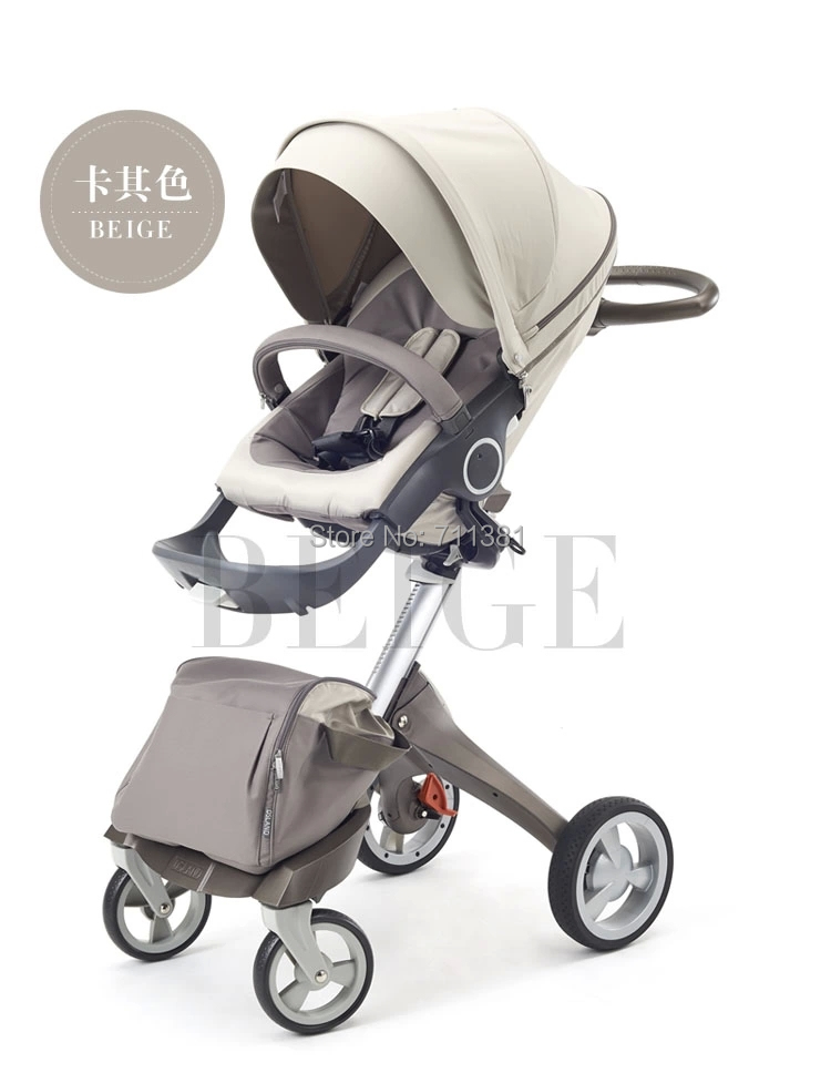 Hot 2014 Perfect & Cheap Stroller In Stock Best Brand Kids Trolley 9 Colors For Option Baby Prams The Best Gift For Newborn Baby(China (Mainland))