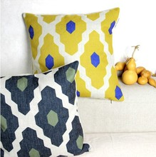 Nordic Artistic geometric patterns Cotton Cushion  pillowcase