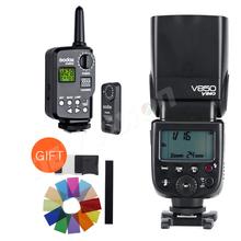 Buy Godox V850 GN58 Speedlight w/ Rechargeable Li-ion Battery Speedlite Flash Light Canon Nikon + Godox FT-16S Wireless Trigger for $130.00 in AliExpress store
