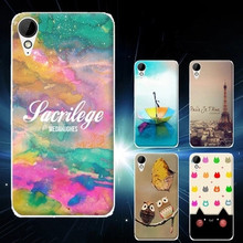 High Quality Colored Drawing TPU Gel Soft Painted Case Cover For HTC Desire 825(China (Mainland))
