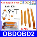 Hot Car dvd player Stereo Refit Tool Kit 12pcs Car Door tools Interior Plastic Trim Panel
