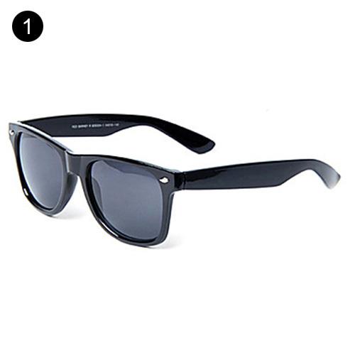 100% UV400 oculos de sol feminino Wayfarer Plastic Retro Sunglasses(China (Mainland))