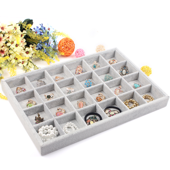 A17-2 Jewelry Display Case All sorts of small adorn article can be placed on the dish Show Case jewelry show box(China (Mainland))