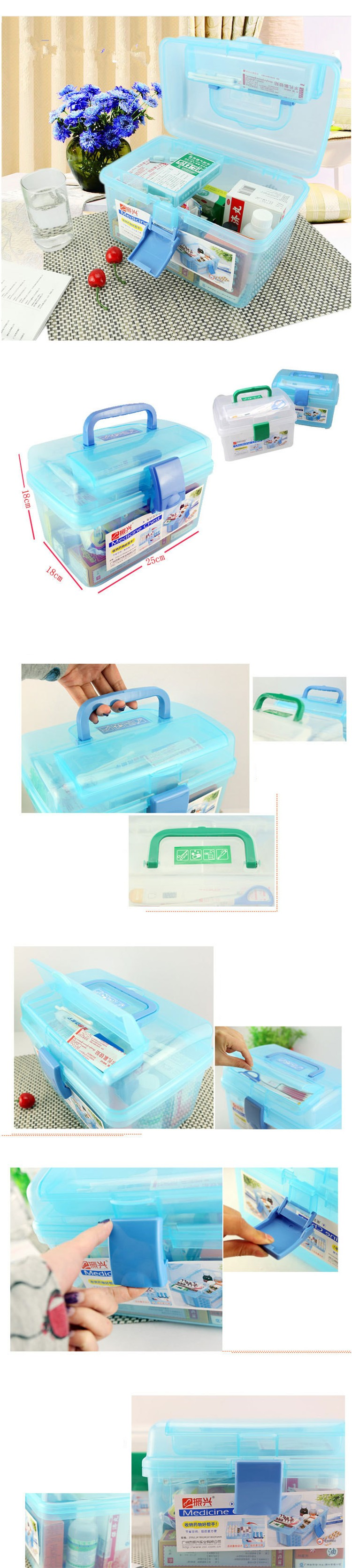 Extra Large Household Multi Layer First ᗑ Aid Aid Kit Multifunctional ヾ ノ Medicine Medicine